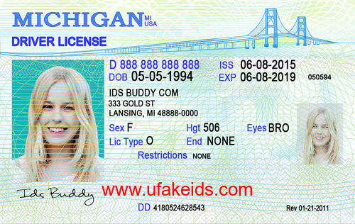 MICHIGAN Fake ID