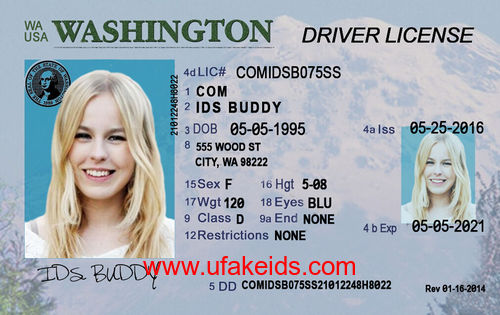 WASHINGTON Fake ID