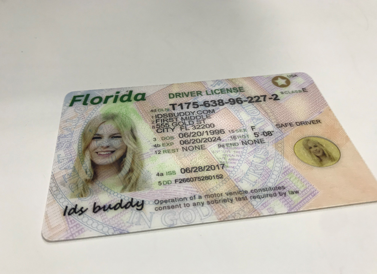 Florida New Faek ID