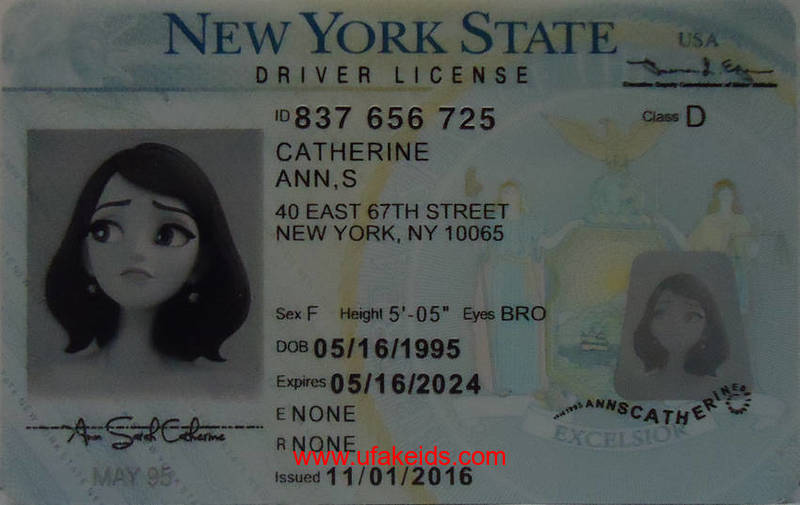 NEW YORK fake id