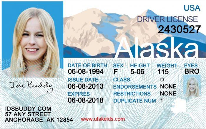 Alaska Fake ID