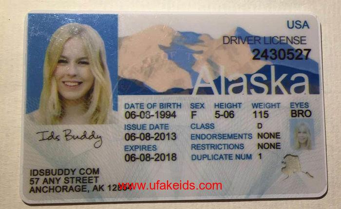 Alaska fake ids
