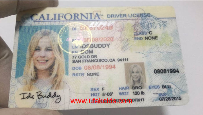 California fake ids