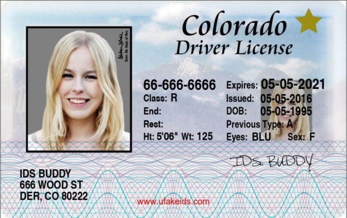 Colorado Fake id
