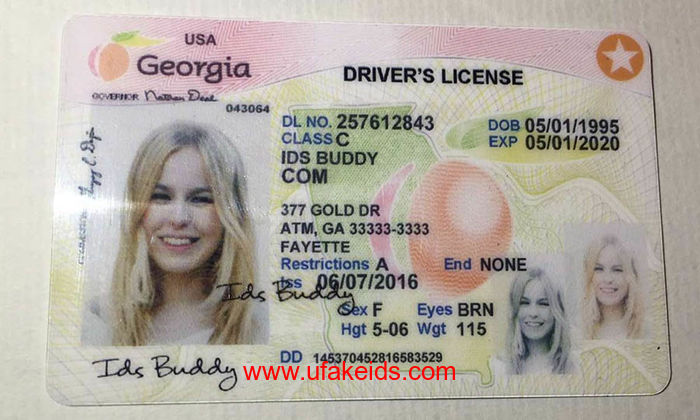 Georgia Fake ids