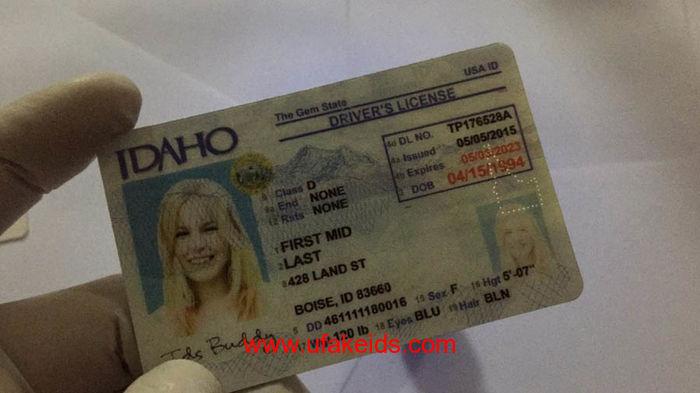 Idaho Fake ids