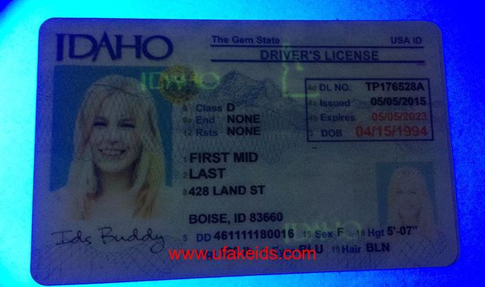 Idaho ids