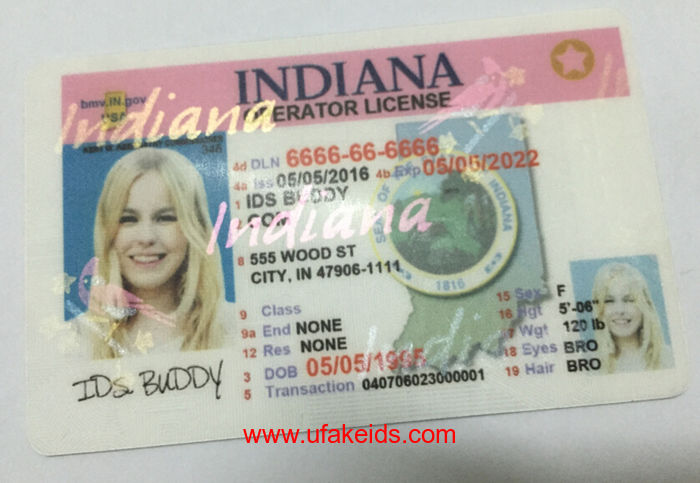 Indiana Fake ids
