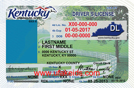 Kentucky Fake ID Template – Buy Best Fake IDs | Make a Fake ID ...