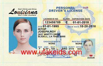 Louisiana Fake ID