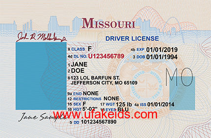 Missouri Fake ID Template – Buy Best Fake IDs | Make a Fake