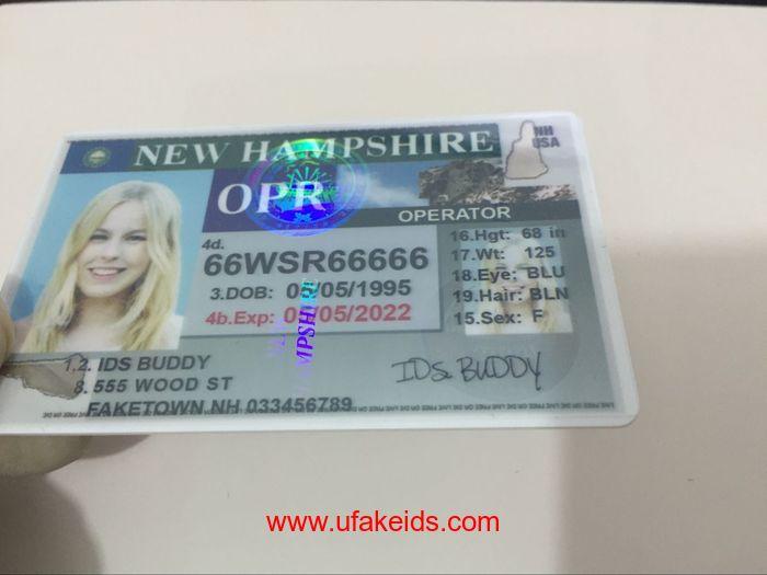 New Hampshire Fake IDs