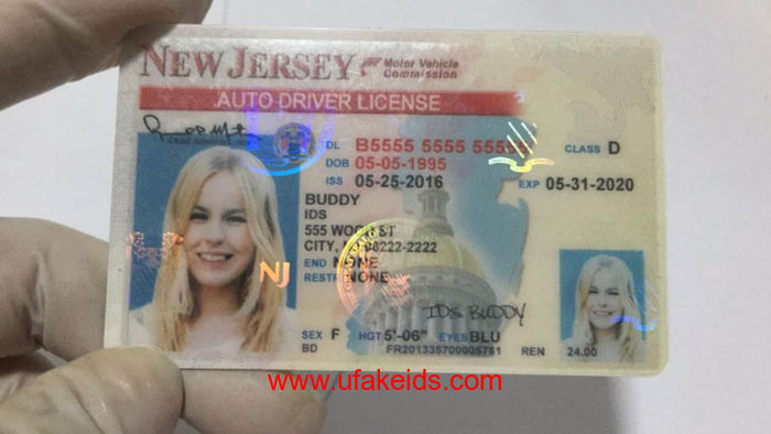 New Jersey Fake ids
