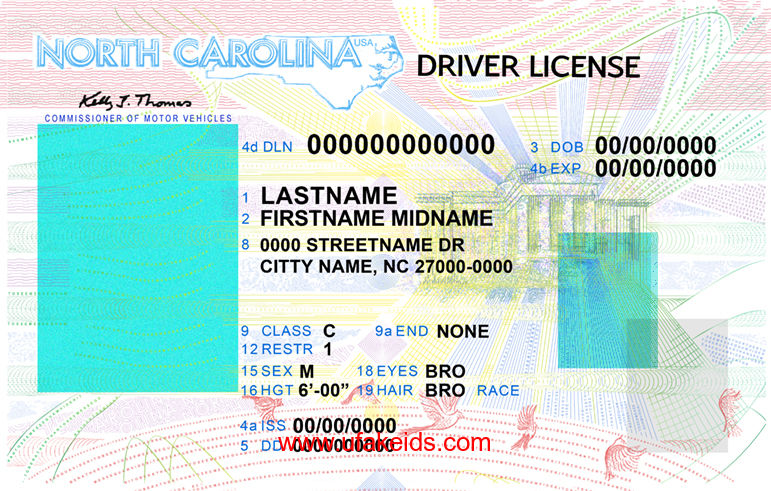 Online Carolina Template Maker Best Ids Id A Buy Fake – North Make