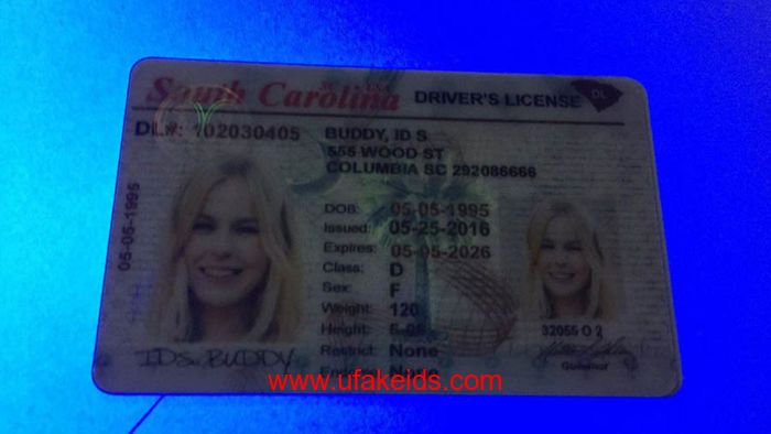 South Carolina ids