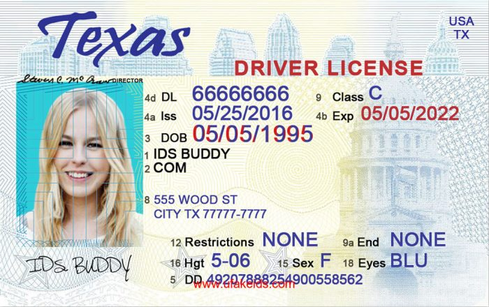 A Texas Buy Ids Id Online – Best Make Maker Fake