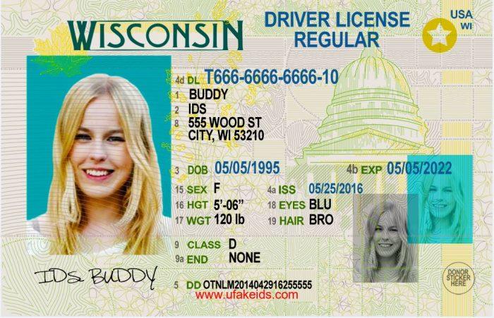 Wisconsin Fake id