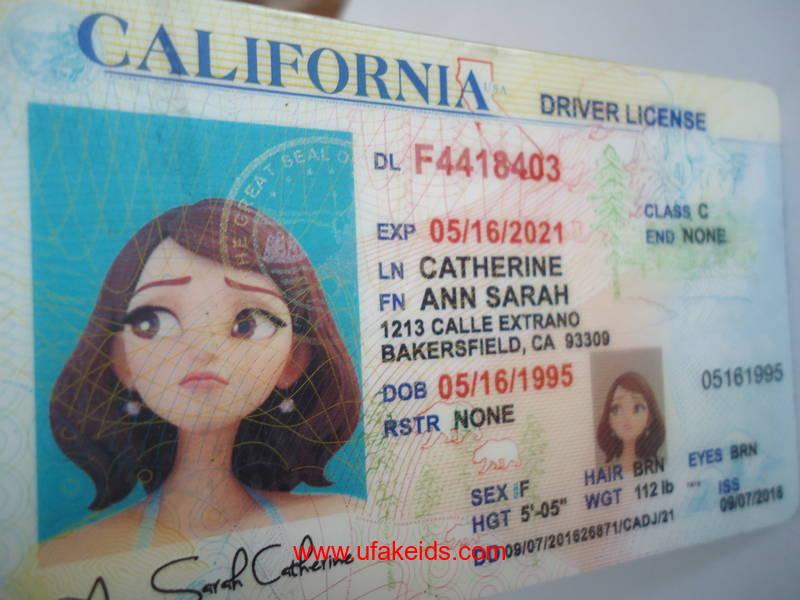california fake id