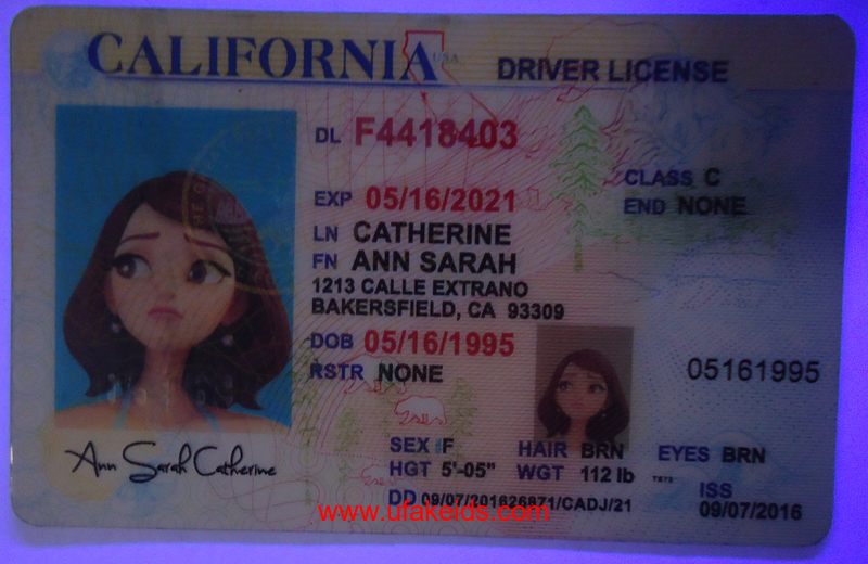 california fake ids