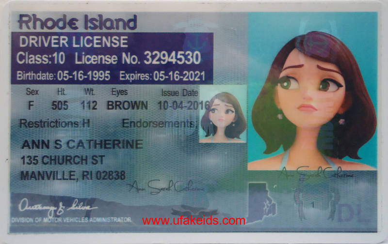 rhode island fake id