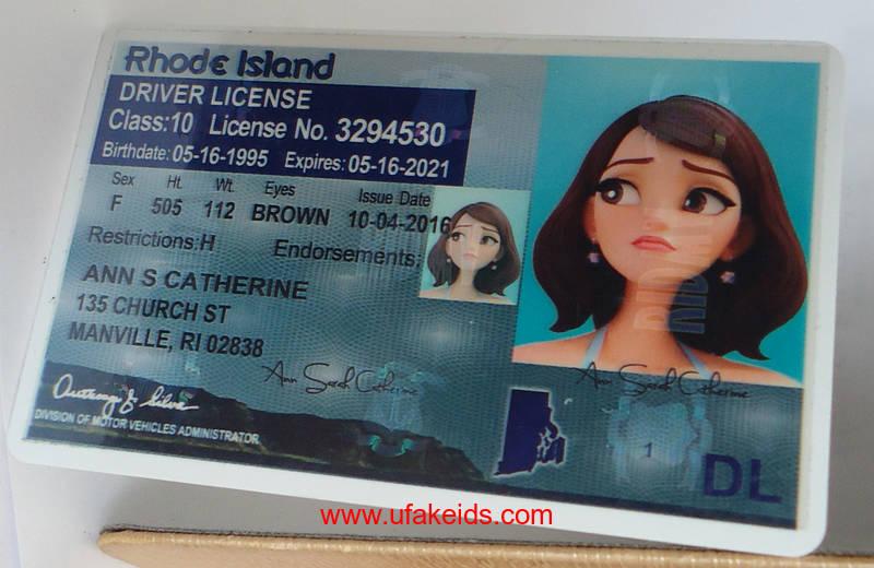 Rhode Island Driver License