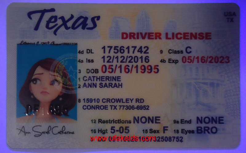 texas fake ids