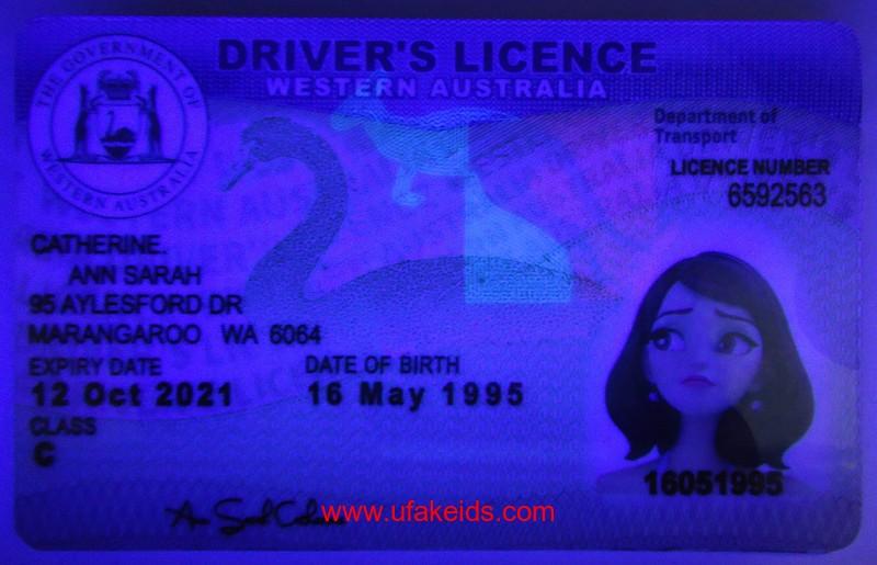 western australia fake ids