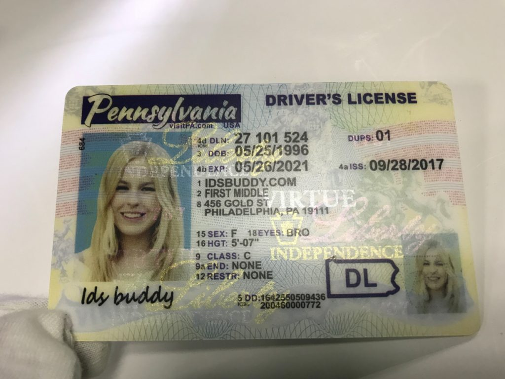 Pennsylvania New Fake ID License,Pennsylvania New Fake ID