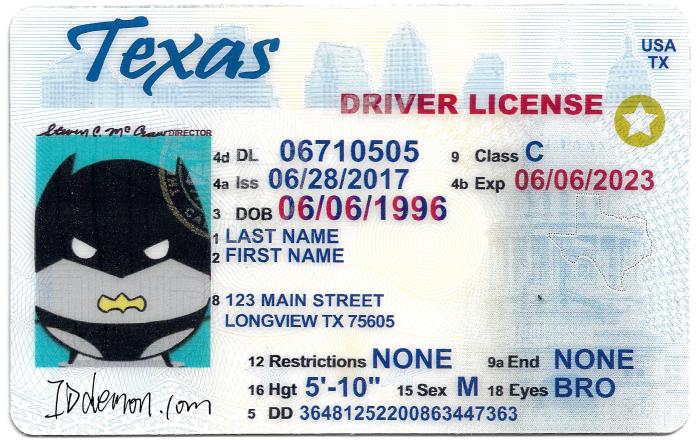 Texas Fake id