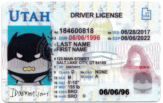 New Utah Fake id