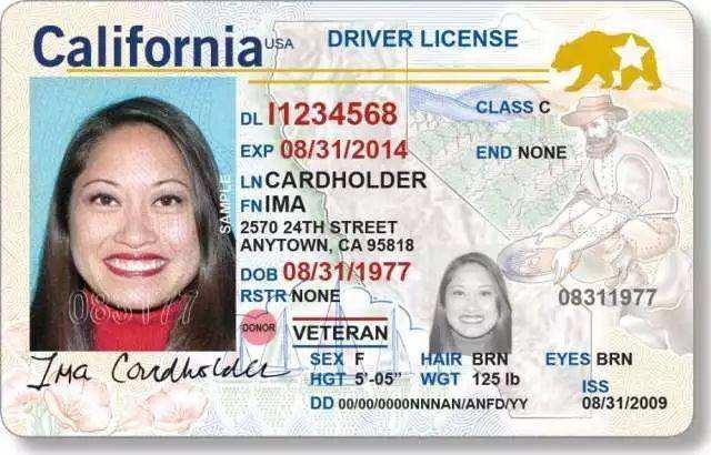 California Fake ID License,CA id
